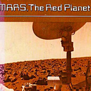 SALE PENDING Isaac Asimov 'Mars, The Red Planet', 1977 1st Ed, DJ - Astronomy, Space, Science,