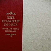 SALE The Romantic Egoists, 1974 SIGNED, Scottie Fitzgerald-  Limited Edition, F. Scott & Zelda