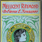 1891`Mellicent Raymond' Novel, SCARCE Embossed Cover - Girl Comrade Series, Antiquarian, Out-O