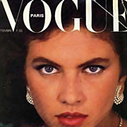 SALE Vogue Magazine September 1980, Haute Couture, Paris - Fashion Designers, French, Models,