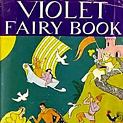 SALE RARE 1947 Violet Fairy Book, DJ, Andrew Lang - Illustrated Fairy Tales, Fantasy, Folklore