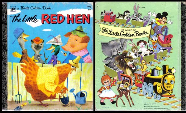 Little Golden Book 'The Little Red Hen' VINTAGE