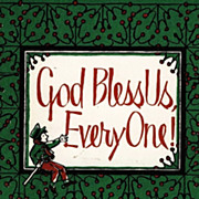 SOLD RARE 1969 1st Ed ' God Bless Us, EveryOne' DJ 'Christmas' - Illustrated / Poetry / Holida
