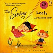 SCARCE 1961 Disneyland Record 'The Swing' � Child's Garden of Verses / DISNEY / Vintage