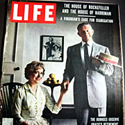 SALE Sept. 22, 1958 Life Magazine HOLLYWOOD - George & Gracie Burns - Elizabeth Taylor