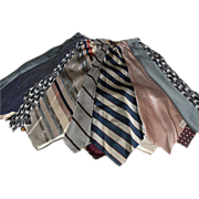 Skirt or Top of Vintage Ties