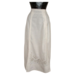 Early 20th Century White Cotton Skirt VS