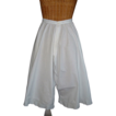 White Cotton Victorian Bloomers w/Monogram