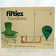 SALE 30% Off~Stunning Vintage Retro 1950s Furniture Book by Leslie Pina~2nd Edition~MINT