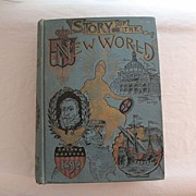 SALE 20% OFF Vintage Book Story of the New World History of USA from Discovery of Continent to