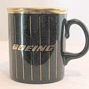 SALE 20% OFF Vintage Collectible Boeing Airplane Company Coffee Mug~MINT~Made in England