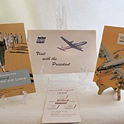 SALE 20% Off~Vintage Collectible Aviation Memorabilia United Air Lines New Employee Welcome Ab