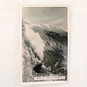 Vintage Collectible Unused Real Photo Post Card Showing Rocky Point, White Pass & Yukon Route