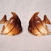 Vintage Collectible Angel Fish  S & P Shakers 1950s Mint Condition