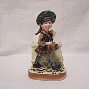 Vintage Young Girl Ceramic Figurine American Greetings Corp. 1971 Excellent Condition