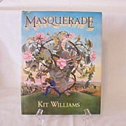 SALE Vintage Book Masquerade by Kit Williams Excellent Condition 1981