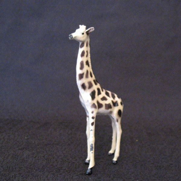 Vintage Collectible Toy Metal Giraffe by T & B of England 1940-60s Excellent Condition