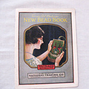 SALE 20% OFF Vintage New Bead Book by National Trading Co 1924 Very Good Condition
