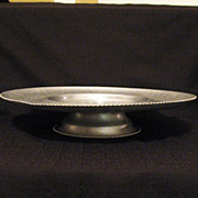 Vintage Hand Wrought Aluminum Lazy Susan by  Cromwell 1950-60s Excellent Condition