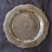 Vintage Patrician Depression Glass 11 Inch Amber Dinner Plate by Federal Glass Co 1933-37 Like