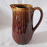Vintage 8 Inch Tall 40 Oz Pitcher Maize Ware Terrace Ceramics Has Shawnee Mark Excellent ...