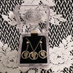 20% Off~Vintage S E Pluribus Unum Mercury Winged Silver Dime Coin Necklace & Earrings Set~