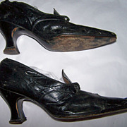 Teens Edwardian Tie Shoes