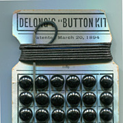 Delong's Button Kit for Button Shoes