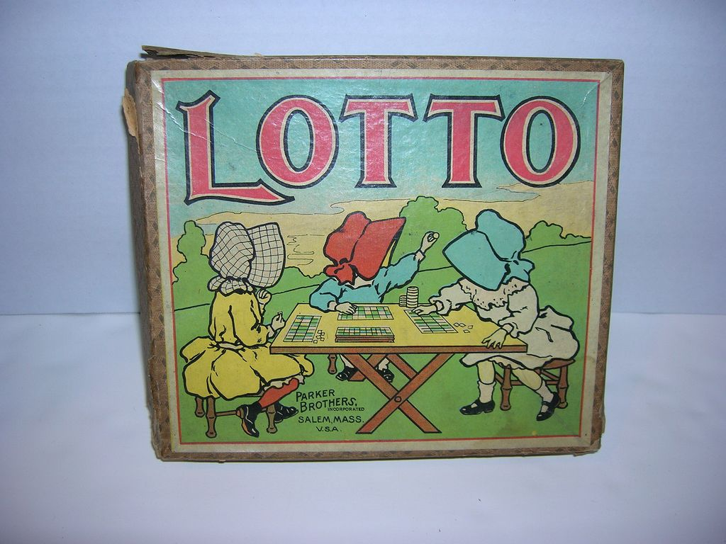 Vintage Lotto Game With
