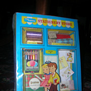 Vintage My Merry &quot;Stationary Store&quot; Complete!