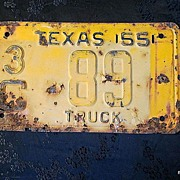SALE 1955 Texas Authentic License Plate Birthday/Decor