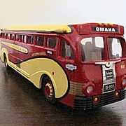 REDUCED Corgi 1/50 Scale Model Burlington Trailways Bus New Boxed