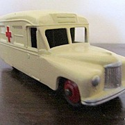 REDUCED Dinky Toy Model Daimler Ambulance Cream Color