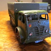 Dinky Toy Military Ten Ton Foden 6 X 6 Army Truck