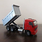 Volvo Die Cast Dump Truck 1/50th Scale Joal
