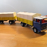 Dinky Toys Mercedes LP 1920 Covered Straight Truck & Trailer
