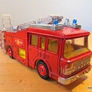 Dinky Toy ERF Fire Tender Pumper & Ladder Fire Truck