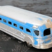 SALE Tootsie Toy Chicago Vintage Greyhound Bus