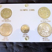 REDUCED Coin Silver Olympic Commemorative Coin Set Investment Quality