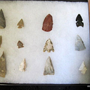 Ancient Native American Arrow Points & Tools From Huge Collection