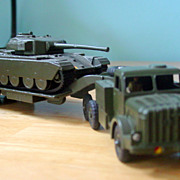 Dinky Supertoy Mighty Antar Tank Transport