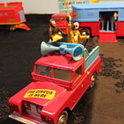 Chipperfield's Circus Rover Parade Speaker Truck & Figures