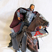Lord Of The Rings King Aragorn With Brego Deluxe Horse