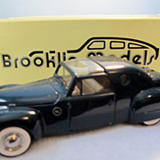 1946 Raymond Loewy Designed Lincoln Continental Brooklin Models 1/43