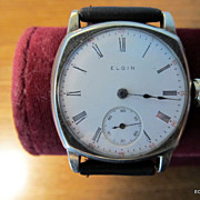 First Year Elgin Wrist Watch 1909  7 Jewels Serviced