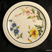 Southern Pacific Railroad Dining Car China Prairie Mountain Wildflower 5 1/2&quot;