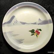 Steamship China Plate Moore McCormack SS Lines