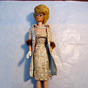 REDUCED Mattel Barbie #850 Bubble Cut 1962--7 Dressed In Evening Splendor #961