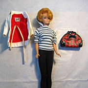 REDUCED Mattel Barbie #850 Bubble Cut Dressed In Winter Holiday #975 Sharp