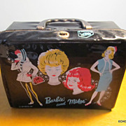 SALE Mattel Barbie & Midge 1963 Vinyl Lunch Box & Thermos